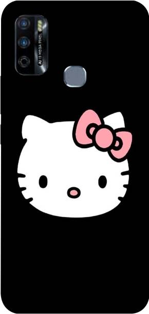 PRINT EVERYTHING Back Cover for Infinix Smart 4 Plus ( Hello Kitty Print )