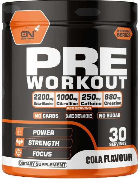 CANADA NUTRITION Pre-Workout for Increased Muscle Pump,Power,Stamina & Strength Energy Drink