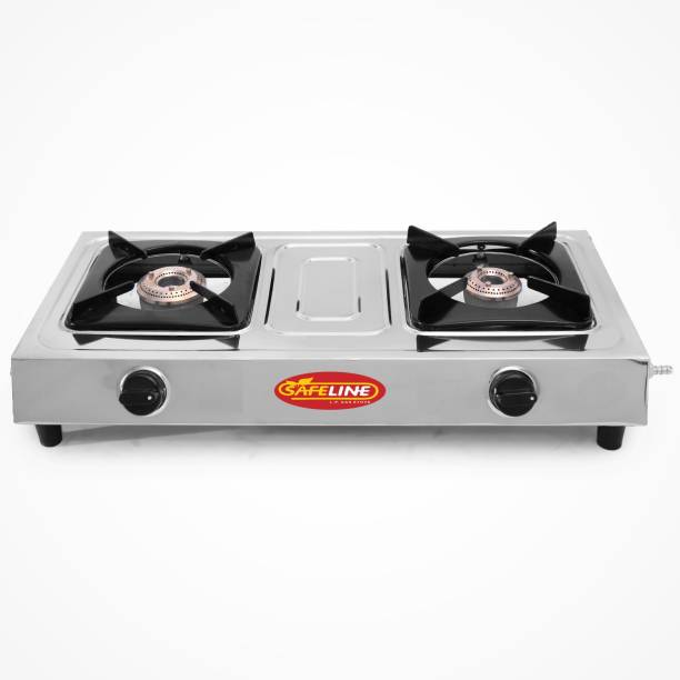 SAFELINE Pleasant and attractive look:: comfort and easy space Stainless Steel Manual Gas Stove