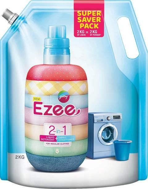 godrej ezee 2-in-1 Liquid Detergent + Fabric Conditioner Liquid Detergent