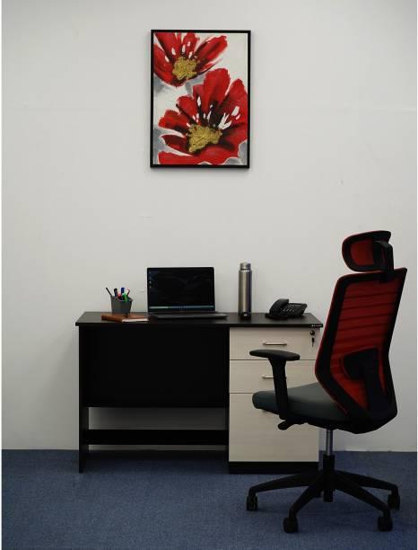 Nilkamal Leonardo Engineered Wood Office Table