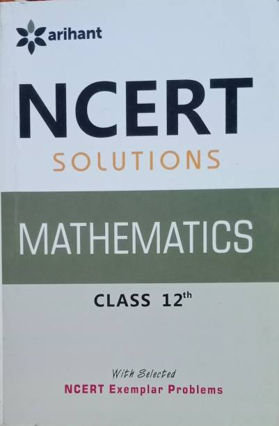 Arihant NCERT Solutions Mathematics For Class 12th