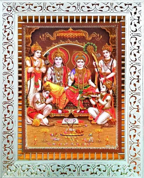 "SUNINOW ram darbar photo frame | Lord ""Shri Ram"" ""Goddess Sita Mata"" ""Lakshmana Ji"" with ""Hanuman Ji"" god photo frames |religious frame | photo frame for pooja Religious Frame"