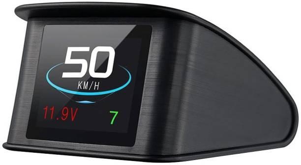 upwade T600 Universal Car HUD Head Up Display Digital GPS Speedometer with Speedup Test Brake Test Overspeed Alarm TFT LCD Display Digital Speedometer