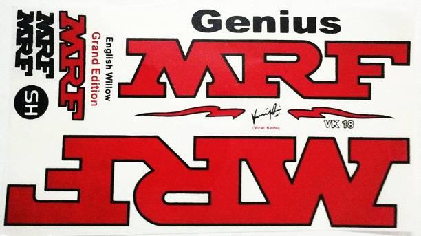 MRF Genius Bat Sticker Bat Sticker