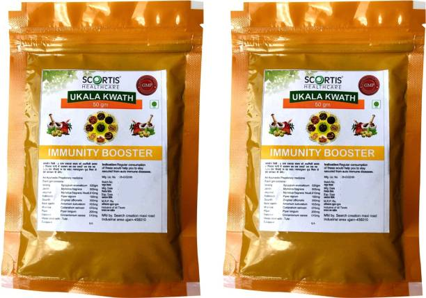 SCORTIS HEALTH CARE Ukala Kwath Powder/Kadha   Fights Cold & Cough   Boosts Immunity