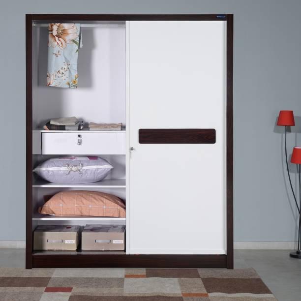 Nilkamal Tristar Engineered Wood 2 Door Wardrobe