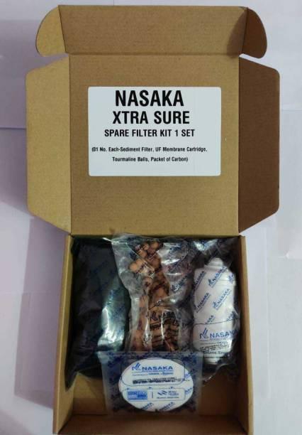 NASAKA Water Filter Spare Kit Solid Filter Cartridge