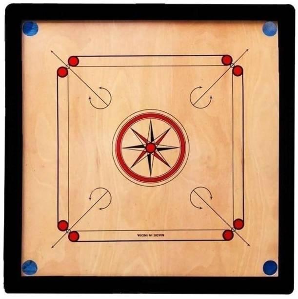 Whitedot Sports Dot 13.0 (32 X 32) Glossy 32 inch Carrom Board