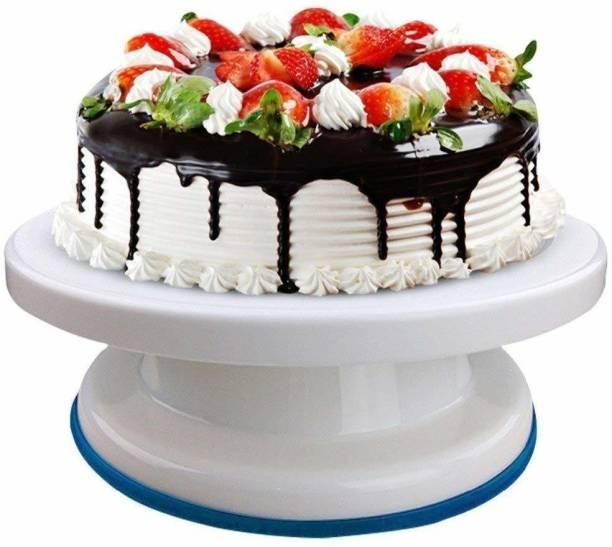 Local Vocal Zone cake turntable rotating cake stand Plastic Cake Server