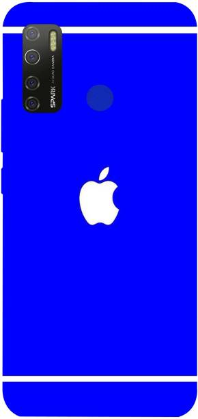 PRINT EVERYTHING Back Cover for Tecno Spark 5 Pro ( Apple Design Print )