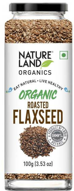 Natureland Organics Roasted Flaxseed
