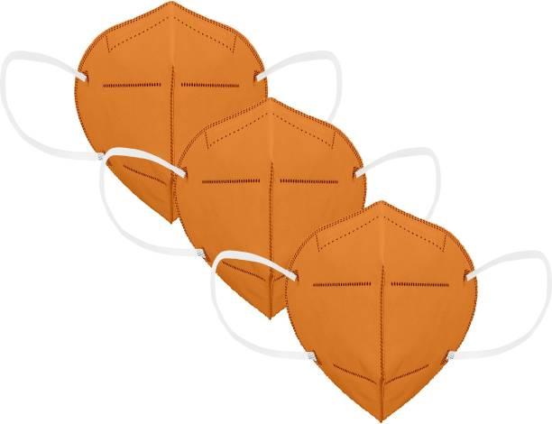 Flipkart SmartBuy Orange_N95__3pc mask Reusable
