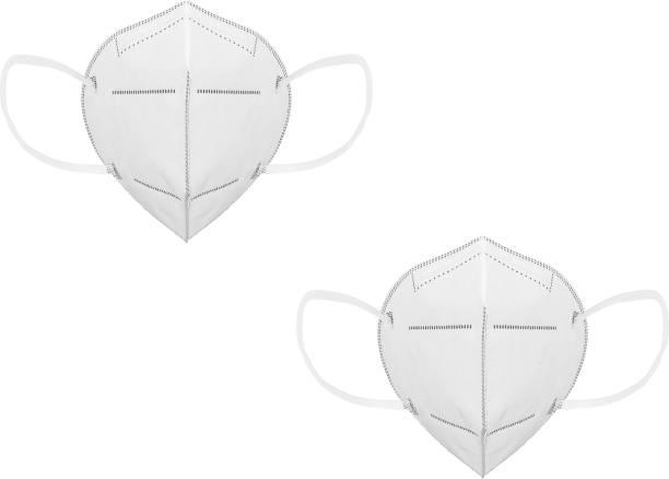 Flipkart SmartBuy _White_N95_2pc mask Reusable