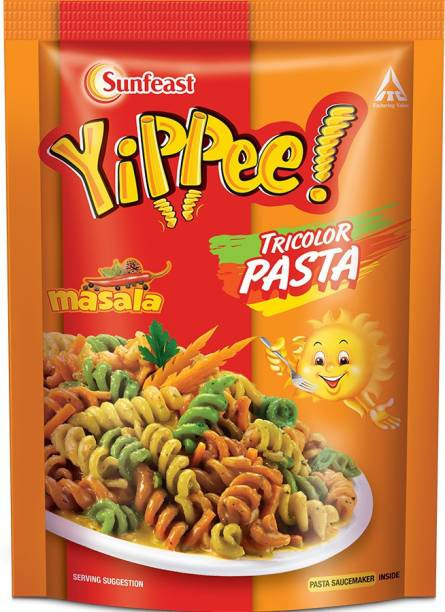 YIPPEE Tricolor Masala Pasta