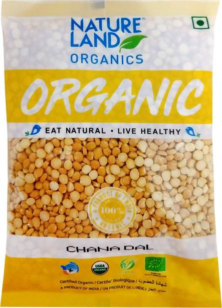 Natureland Organics Chana Dal (Split)