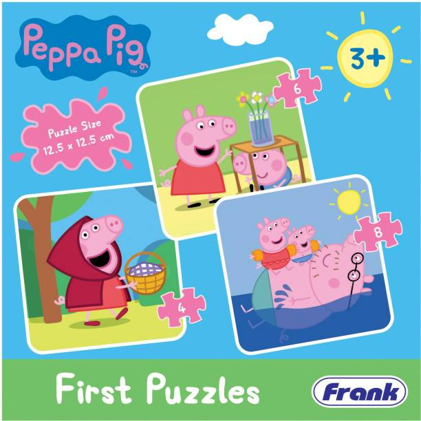 Frank Peppa Pig First Puzzles Puzzle