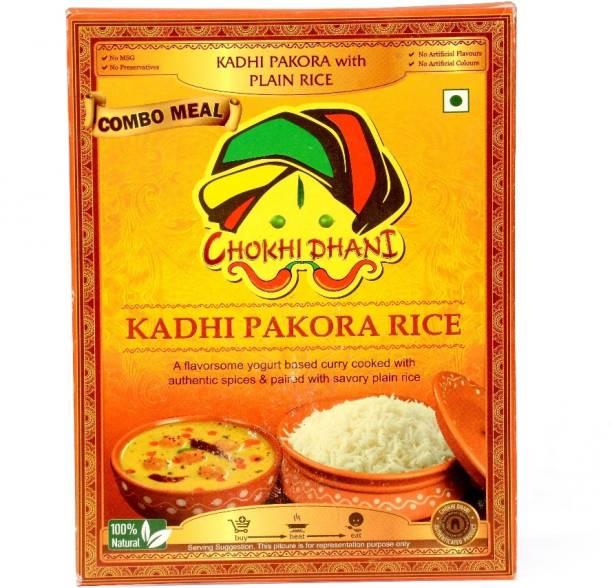 Chokhi Dhani Foods Kadhi Pakora Rice Combo 375 g