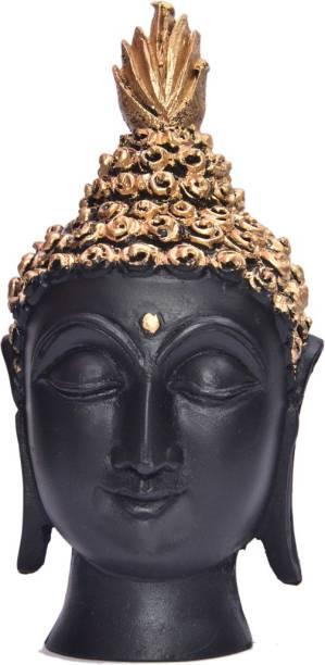 Royalbox Vastu Fangshui Religious Idol of Buddha Head Decorative Showpiece  -  14 cm