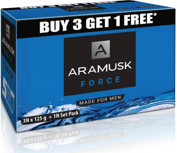 Aramusk Force Soap, 125g(Buy 3 Get 1 Free)