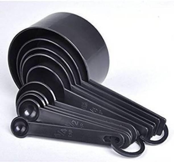 AOSIKATE 8 pc Measurement cup Polypropylene Measuring Spoon Set