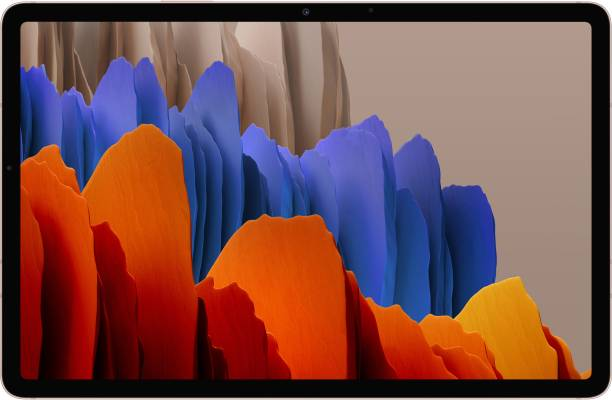 SAMSUNG Galaxy Tab S7+ 6 GB RAM 128 GB ROM 12.4 inch with Wi-Fi Only Tablet (Mystic Bronze)