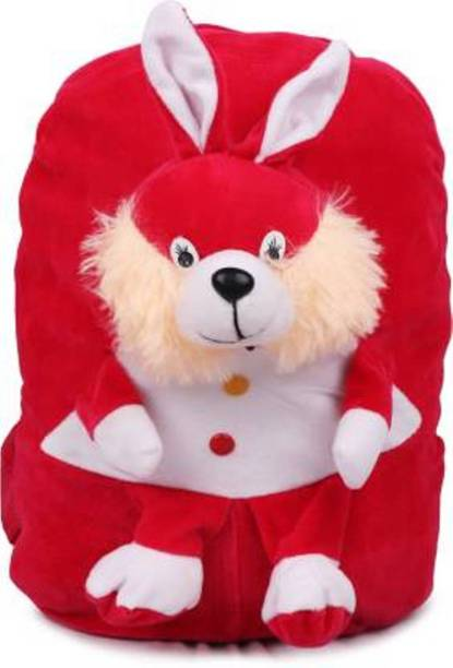 vtb retail Red Rabbit design character kids school bag Backpack (Red 12 L) for child /baby/ boy/ girl soft cartoon character bag gifted School Bag