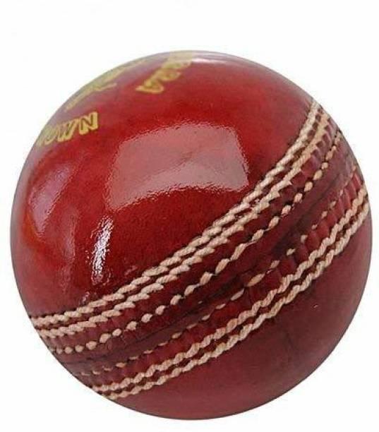 RIO PORT A2Z HUB Cricket Leather Ball RED Baseball