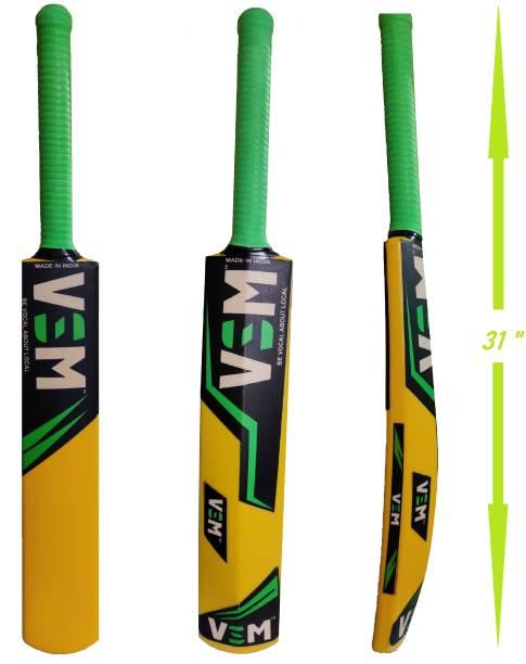 VSM Lazer Size 6 for age group 11-13 year PVC/Plastic Cricket  Bat