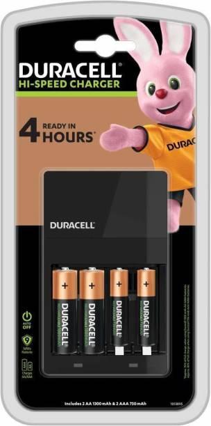 DURACELL 2AA 1300 mah and 2AAA 750 mah  Camera Battery Charger