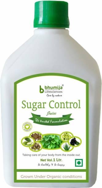 Bhumija Lifesciences Sugar Control Juice, Karela, Jamun, Daana Meethi, Gudmar, Aloe Vera (Sugar Free) Energy Drink
