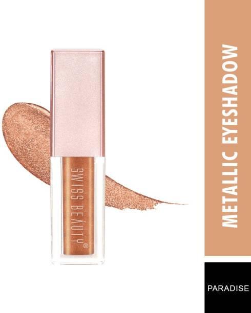SWISS BEAUTY Metallic Liquid Shade-Paradise Eyeshadow 2.25 ml