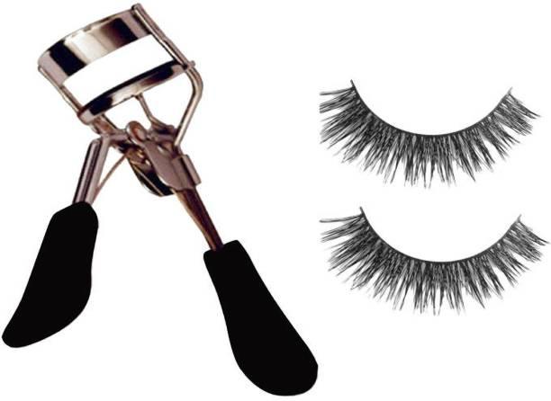 POORAJ Eyelash Curler and False Eyelashes