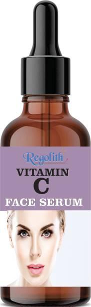 Regolith Vitamin C 20% Night & Day Revitalizing Brightening Facial Serum With Vitamin E, Hyaluronic Acid