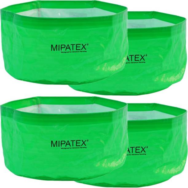 Mipatex Woven Fabric Grow Bags 24in x 12in, Heavy Duty Plant Pot Fruits Vegetable, Terrace Home Kitchen Gardening Bags (Pack of 4) Grow Bag