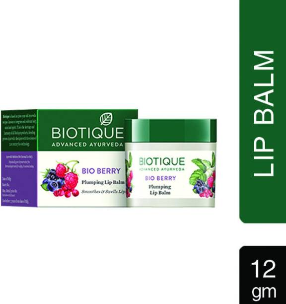 BIOTIQUE bio berry pluming lip balm (pack of 5) berry