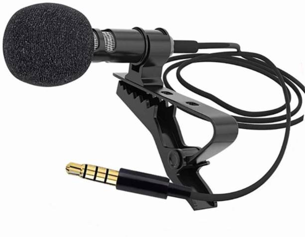 SrO Collar Mic 3.5mm Clip-on Mini Lapel Lavalier Microphone for ALL MOBILE Device (Black) LAVALIERE MICROPHONE