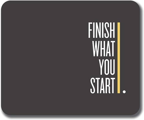 PNV Kraft Finish What You Start MMP010 Mousepad