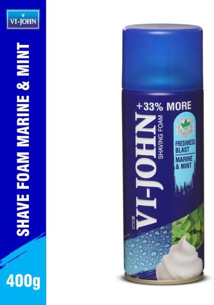 VI-JOHN Shaving Foam Marine & Mint