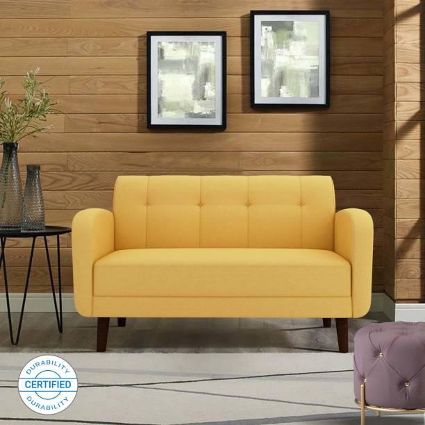 ARRA Rome Tufted Back Fabric 2 Seater  Sofa