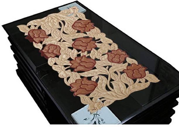 Groki Beige, Brown 84 cm Table Runner