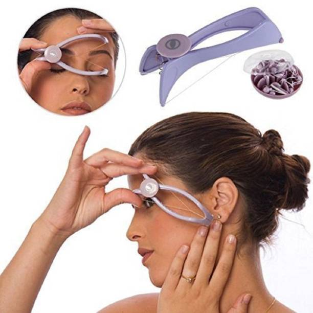 MAHAKAL ENTERPRISE Eyebrow Face and Body Hair Threading Removal Epilator Tweezer