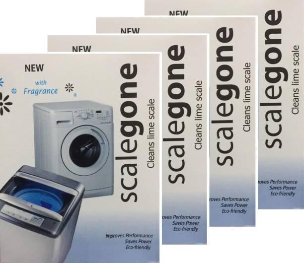 scalegone Washing Machine Descaler Pack Of 4 Detergent Powder 400 g