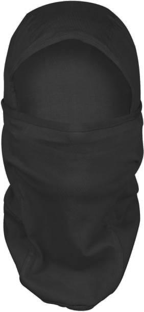 BLACKSMITH Black Bike Face Mask for Men & Women