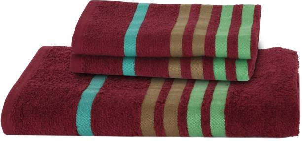 Maspar 3 Piece Cotton Bath Linen Set