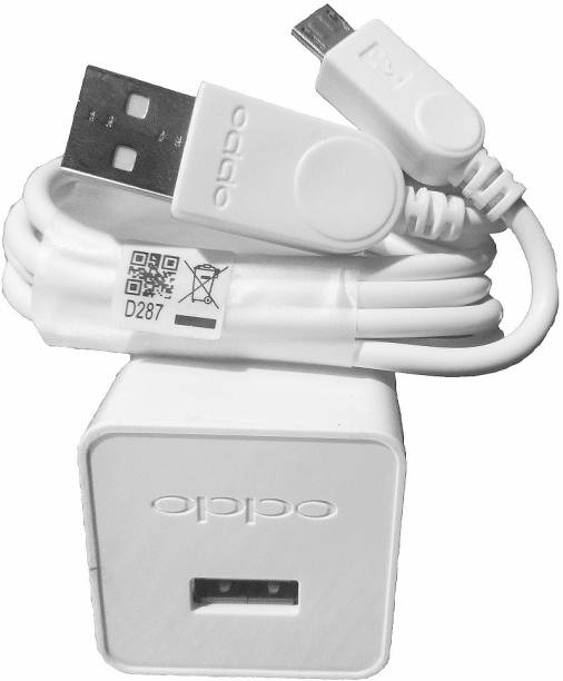 OPPO Original Charger With Fast Cable, Super Fast Charging Speed 5 W 2 A Mobile Charger with Detachable Cable