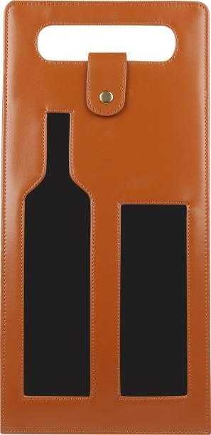Dazzer Leather Bottle Rack