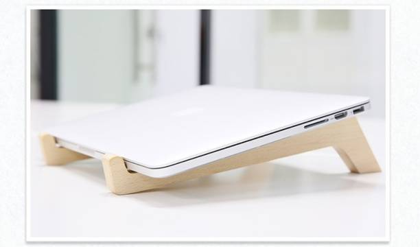 WoodCart 1 Compartments Handmade Personalized Wood laptop,Notebook, Wood macbook,Wooden stand,Laptop holder,Base laptop,Notebook holder Laptop Stand