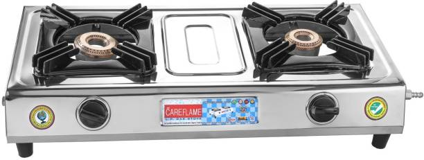 Care Flame Stainless Steel Manual Gas Stove