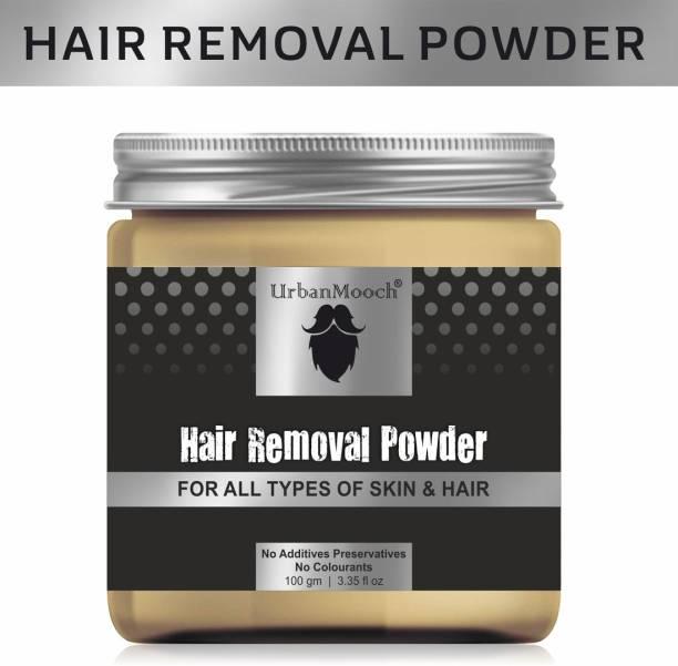 UrbanMooch Natural & Organic Hair Removal Powder - All Skin & Hair Types Cream